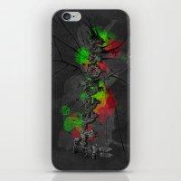 Fragments of freedom iPhone & iPod Skin
