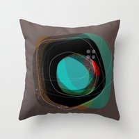 the abstract dream 8 Throw Pillow