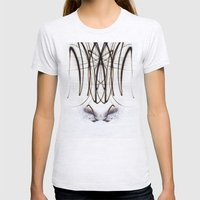 Lights Mirror Image IV Womens Fitted Tee Ash Grey SMALL