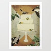 Let Them Eat Cake :: I Art Print