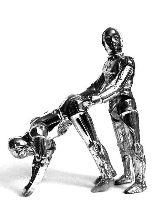 Droid Buttseks Art Print