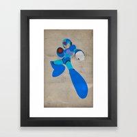 Buster B.A. (Megaman) Framed Art Print