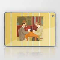 Card players by Cezanne Laptop & iPad Skin