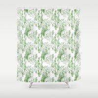 Jamaican Botanicals - Gr… Shower Curtain
