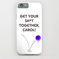 Bad Day On The Tennis Co… iPhone 6 Slim Case