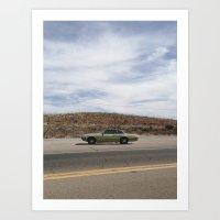 Bisbee Roadside Art Print