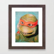 Mikey Framed Art Print