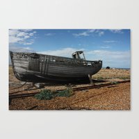 Boat Off Course Canvas Print