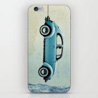 Water Landing VW beetle iPhone & iPod Skin
