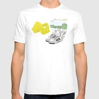 Vanity Mens Fitted Tee White SMALL