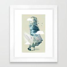 Natures Heart II Framed Art Print