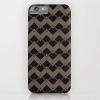 Taupe Geometric Art Deco… iPhone 6 Slim Case