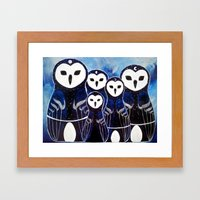 Matroshka Guardians Framed Art Print