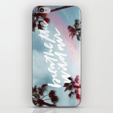 Breathe in the wild air iPhone & iPod Skin