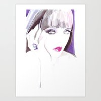 Fashion Illustration In … Art Print