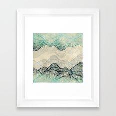 Crash Into Me  Framed Art Print