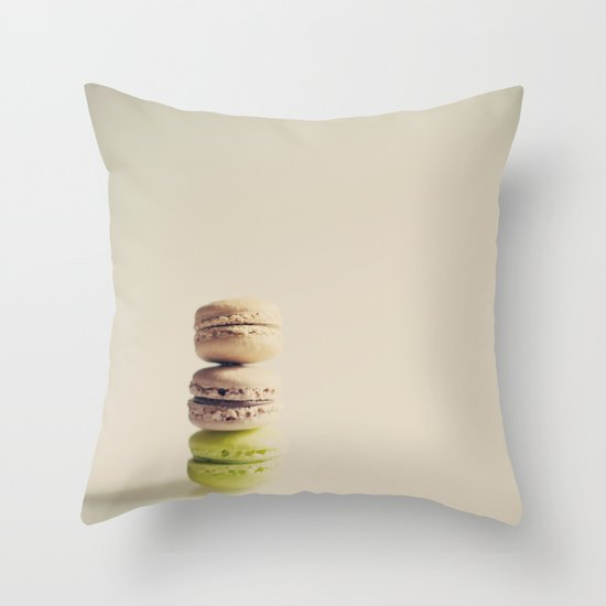 The lonely macaroons  Throw Pillow