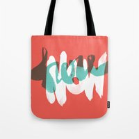 Here Now Tote Bag