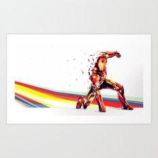 DASHED... .. . .  .   .    .     .      . Art Print