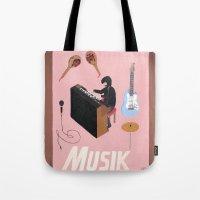 Musik Tote Bag