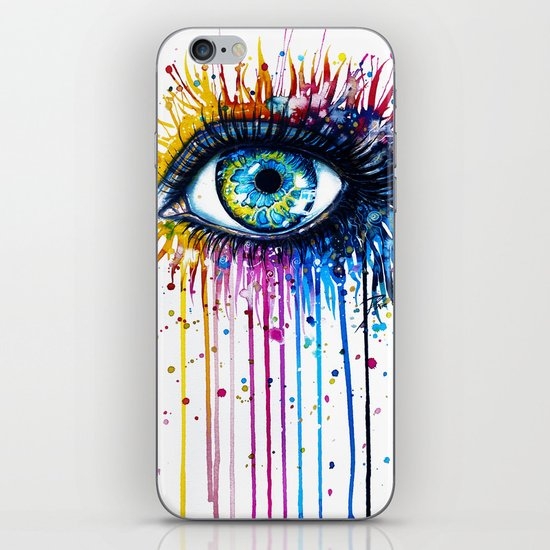 """Rainbow Eye"" iPhone & iPod Skin"
