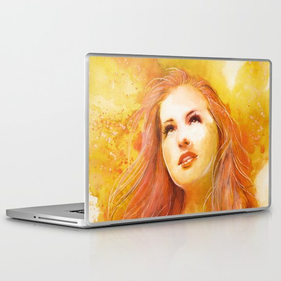Just before the leaves fall Laptop & iPad Skin