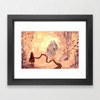 journey - atonement Framed Art Print