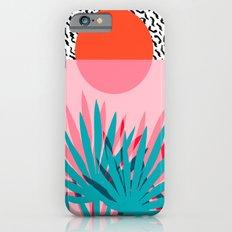 Whoa - palm sunrise southwest california palm beach sun city los angeles retro palm springs resort  iPhone 6 Slim Case