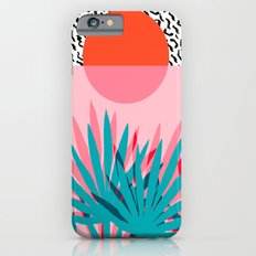 Whoa - palm sunrise southwest california palm beach sun city los angeles retro palm springs resort  iPhone 6s Slim Case
