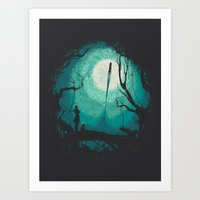 After Cosmic War Art Print