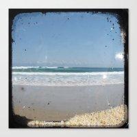The Beach - Through The … Canvas Print