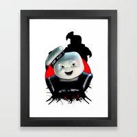 Stay Puft: Monster Madne… Framed Art Print