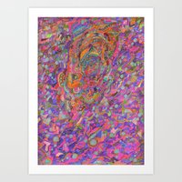 Untitled/In Color Art Print