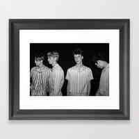 Vogue Backstage Framed Art Print