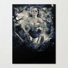Space Breaker Canvas Print