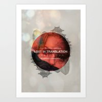 Lost in Translation - Charlotte/Scarlett Art Print
