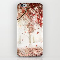 Scarlet And Snow iPhone & iPod Skin