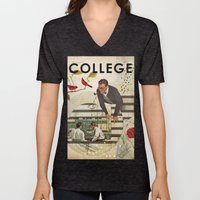 Welcome to... College Unisex V-Neck