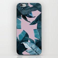 Tropical Palm Print #2 iPhone & iPod Skin