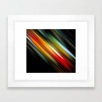 Color Lagoon Framed Art Print
