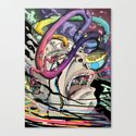 Total Freak Out Canvas Print