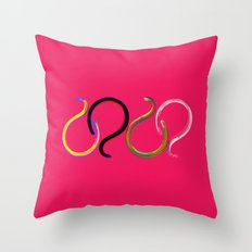 ¿Why? Throw Pillow