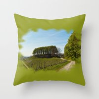 To Direct The Spell Over… Throw Pillow