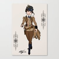 Evelyn Hayes Canvas Print