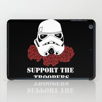 Support The Troopers iPad Case