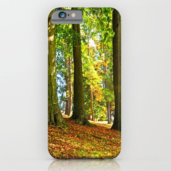Autumn beauty iPhone & iPod Case