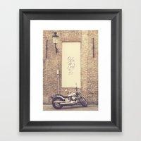 Keep The Love Alive Framed Art Print