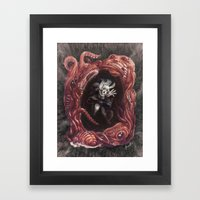 Within The Nightmare Framed Art Print