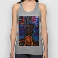 Agate, What springs from Earth dissolves to Earth again Unisex Tank Top