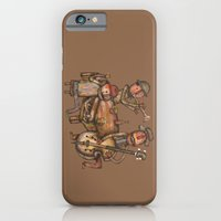 iPhone & iPod Case featuring The Small Big Band by Rudolf Brancovsky